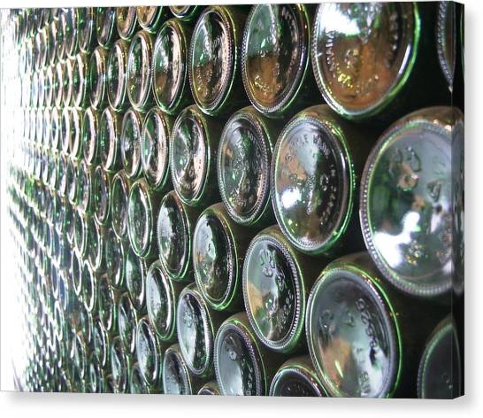99 Bottles Of Beer On The Wall... Canvas Print