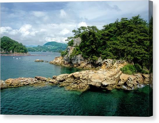 99 Islands Sasebo Japan Canvas Print
