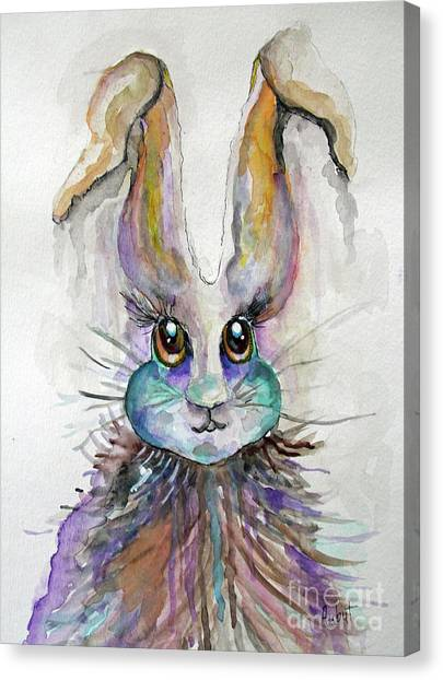 A Bad Hare Day Canvas Print