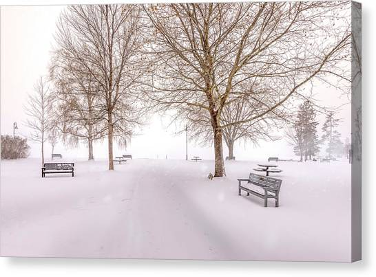 A Beautiful Winter's Morning  Canvas Print