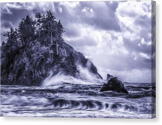 A Blustery Day Canvas Print