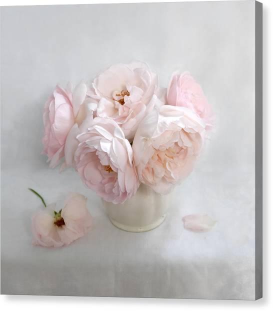 A Bouquet Of June Roses #2 Canvas Print
