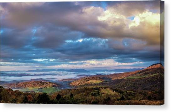 A Break In The Clouds Canvas Print