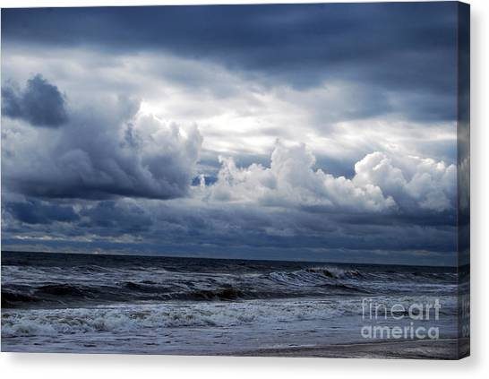 A Break In The Storm Canvas Print