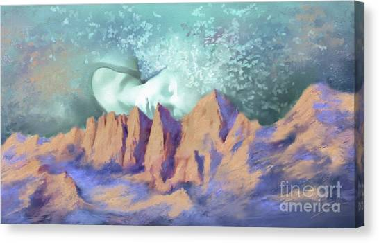 A Breath Of Tranquility Canvas Print
