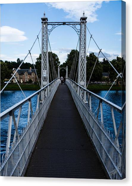A Bridge For Walking Canvas Print