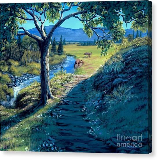 A Brighter Path Canvas Print