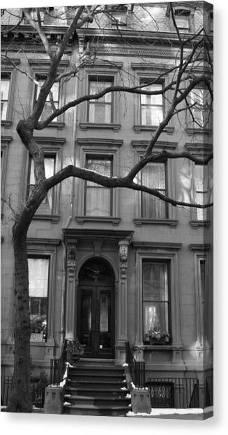 A Brownstone In Brooklyn Canvas Print