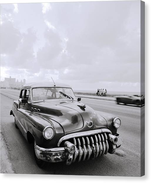 A Buick Car Canvas Print