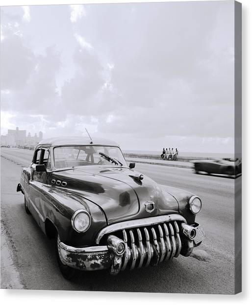 A Buick Car Canvas Print