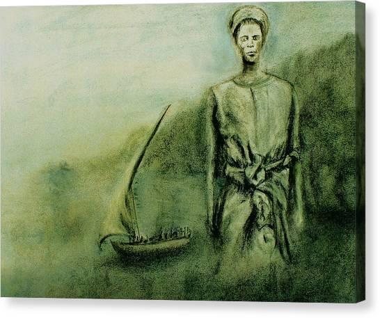 A Bunyakyusa Woman Canvas Print by Mushtaq Bhat