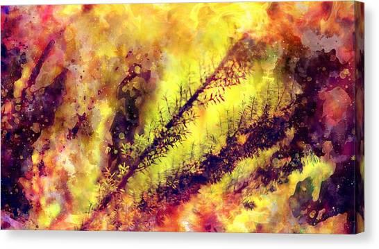A Burning Bush Canvas Print