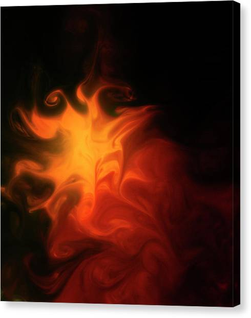 A Burning Passion Canvas Print