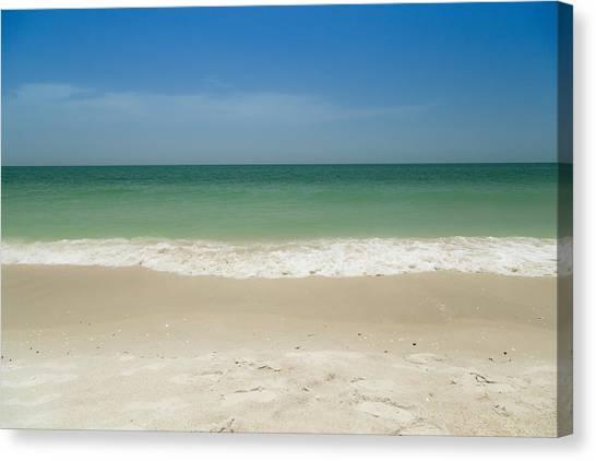 A Calm Wave Canvas Print