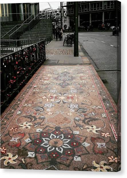 Canvas Print - A Carpet Of Stone Honors Hamburg As by Patrik Duda