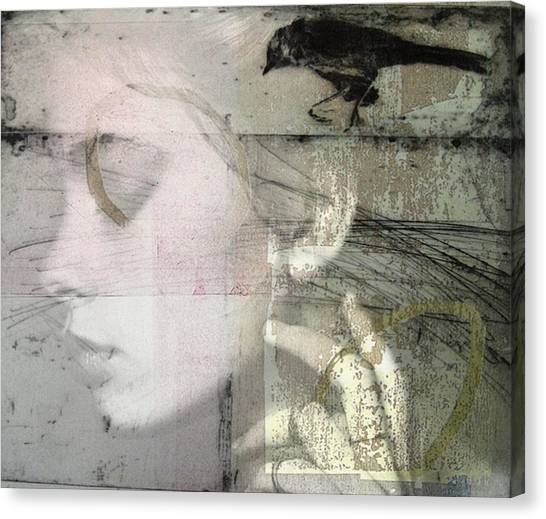 Ravens Canvas Print - A Case Of You  by Paul Lovering