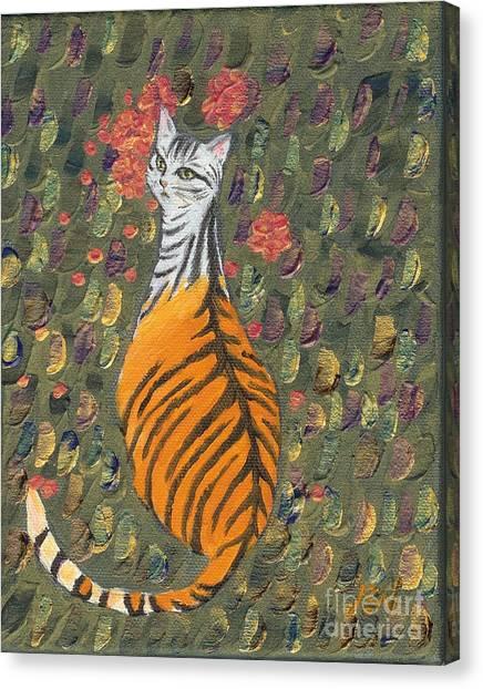 A Cat's Dream Apparel Canvas Print