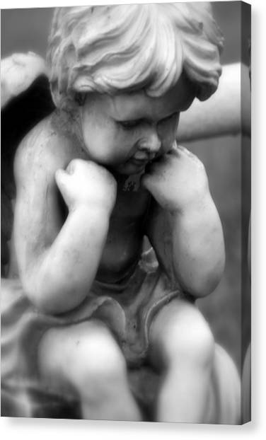 A Child Lost Canvas Print