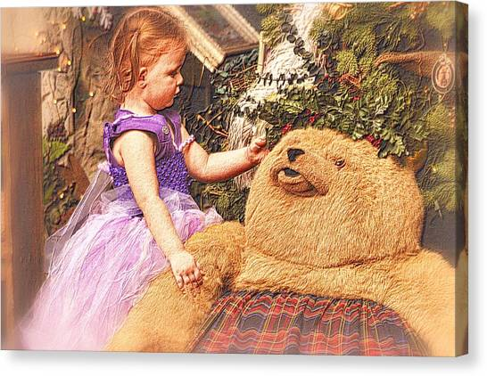 A Child's Christmas Canvas Print