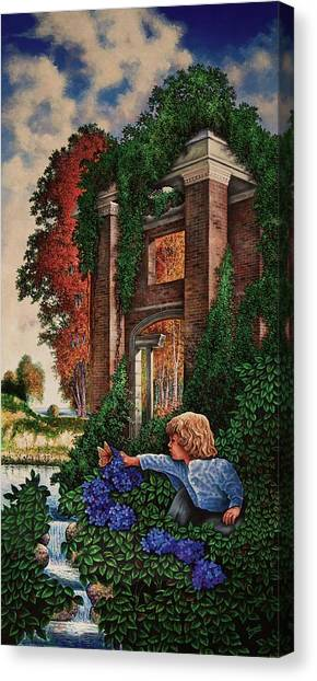 A Child's Wonder Canvas Print