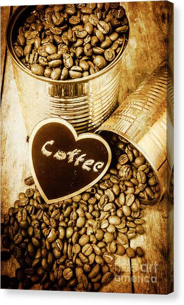 Meat Canvas Print - A Coffeehouse Romance by Jorgo Photography - Wall Art Gallery