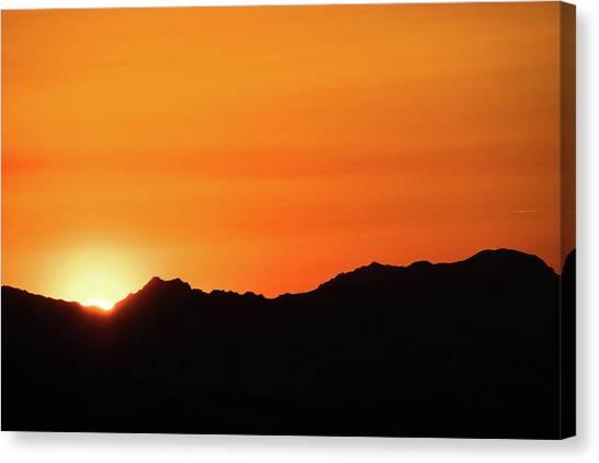 A Colorado Sunset Canvas Print
