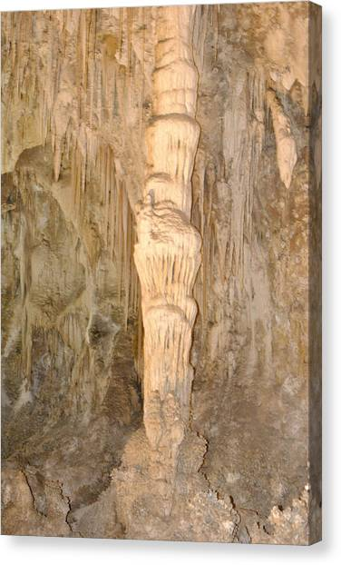 A Column Canvas Print by Jon Rossiter
