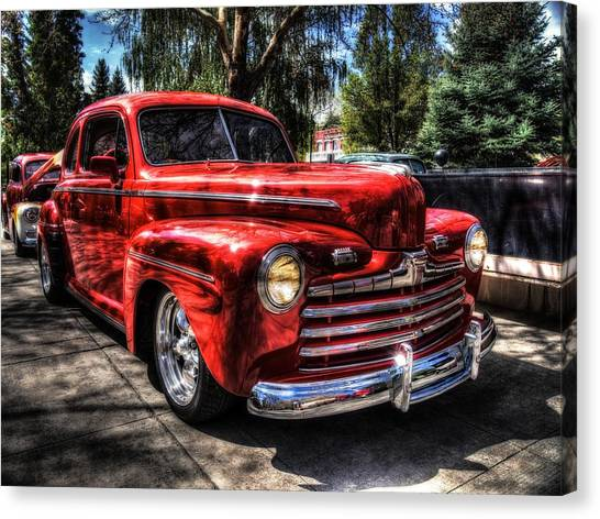 A Cool 46 Ford Coupe Canvas Print