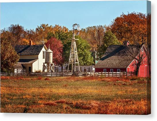 A Country Autumn Canvas Print