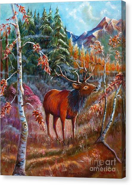 A Cry In The Wild Canvas Print
