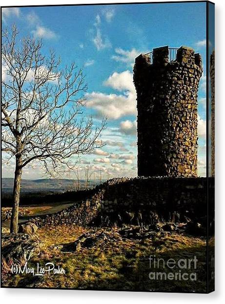 A Day At  Craigs  Castle   Canvas Print