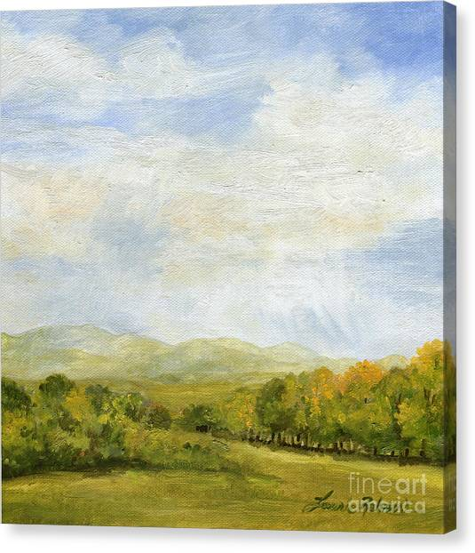 A Day In Autumn Canvas Print