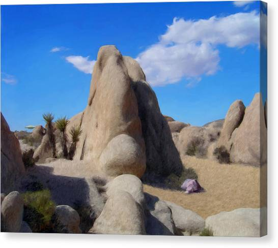 Southwest Canvas Print - A Day In The Monument by Snake Jagger
