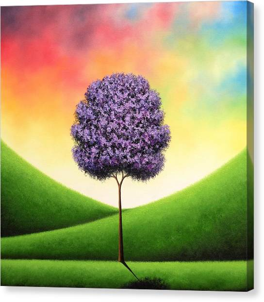 Blooming Tree Canvas Print - A Day To Carry by Rachel Bingaman