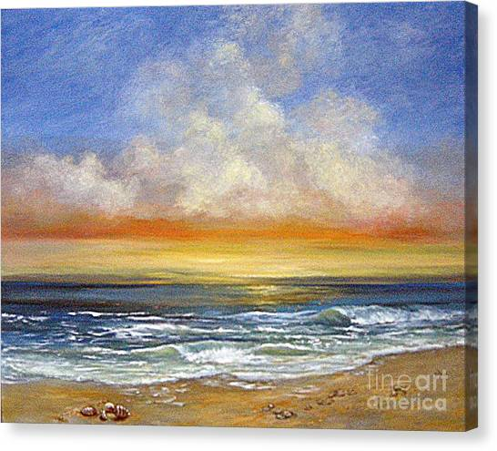 A Day To Remember  Sold Canvas Print by Jeannette Ulrich