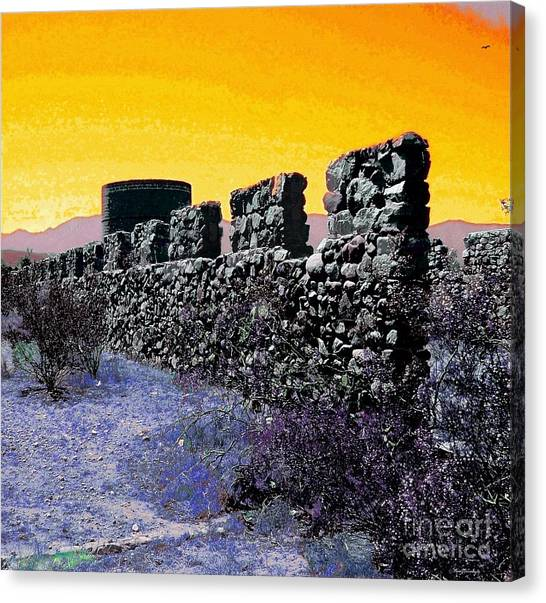 Mojave Desert Canvas Print - A Desert Host 2 by Glenn McCarthy Art and Photography