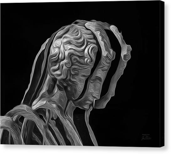 Smithsonian Institute Canvas Print - A Divided Mind by Joe Paradis