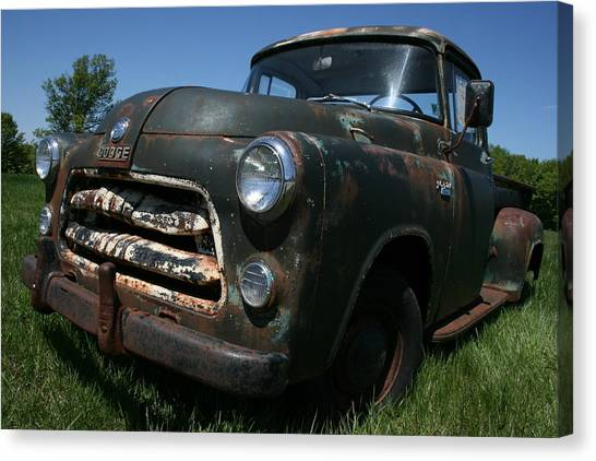 A Dodge Classic Canvas Print