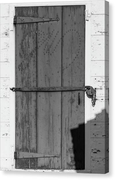 Royal Colony Canvas Print - A Door With Character by Teresa Mucha