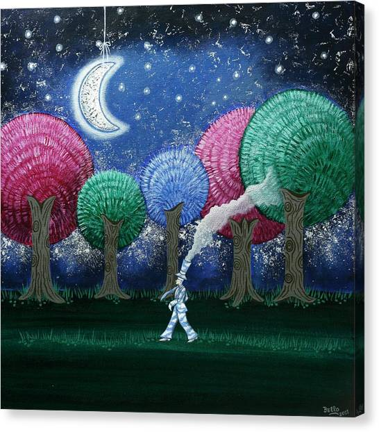 A Dream In The Forest Canvas Print
