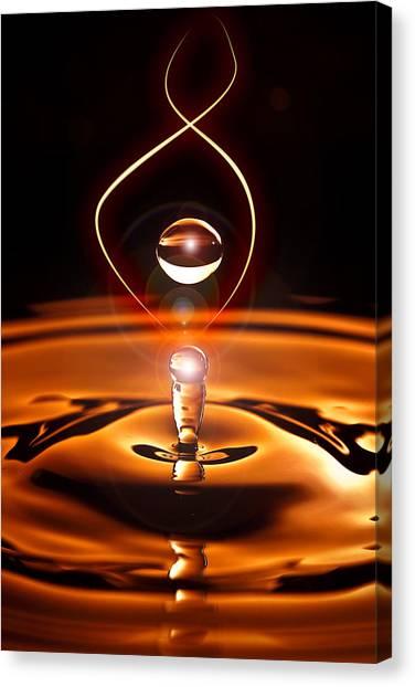 A Drop Of Light Canvas Print