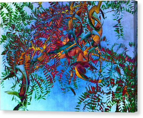 A Fabric Of Illusion Canvas Print