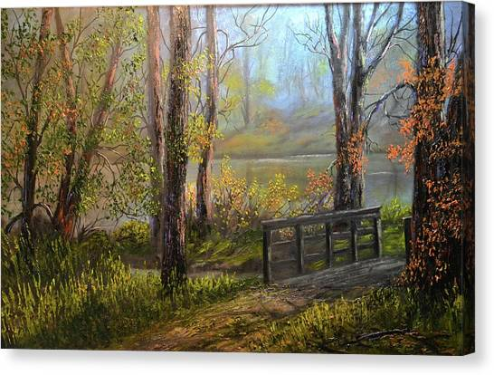 A Fall Day  Canvas Print