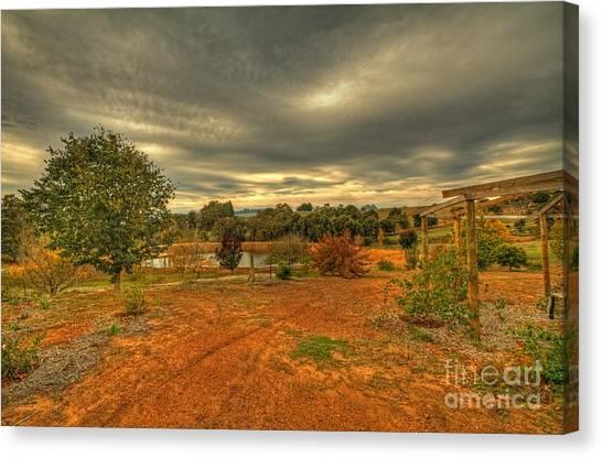 A Farm In Bridgetown, Western Australia Canvas Print