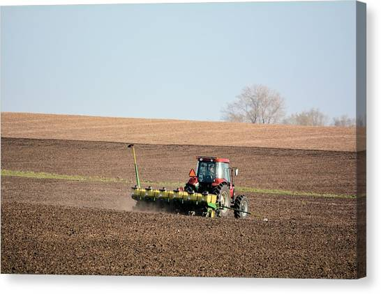 A Farmers Life Canvas Print
