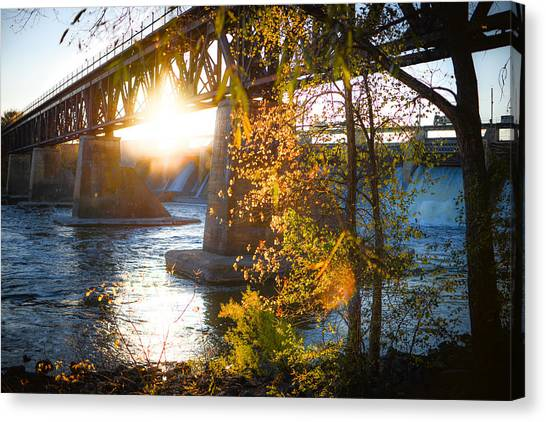 Blanchard Dam - A Favorite Place Canvas Print