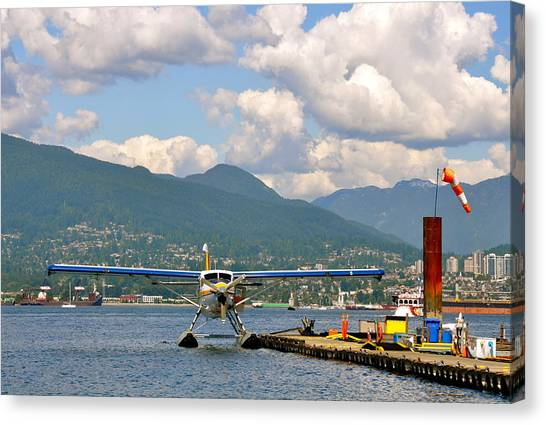 A Float Plane Canvas Print