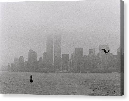 A Foggy Day Canvas Print by Alex Kantor