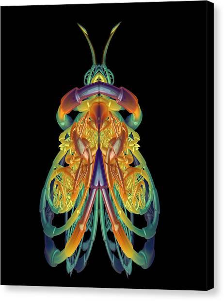 A Fractal Bug Canvas Print