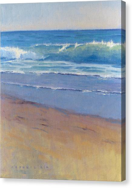 Gentle Wave / Crystal Cove Canvas Print